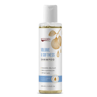 Bio Sampon pentru Volum si Hidratare Volum & Softness Wooden Spoon 200 ml