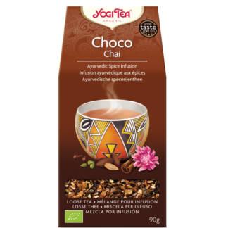 Bio Yogi Tea Choco Ceai Ayurvedic cu Cacao si Scortisoara 90 g