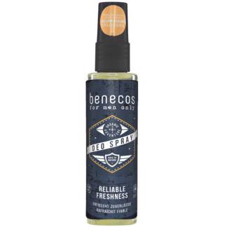 Deodorant Spray pentru Barbati Fara Aluminiu Benecos 75 ml