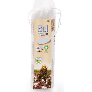 Dischete Demachiante din Bumbac Organic Bel Nature 70 buc