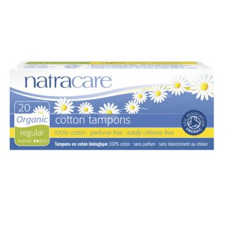 Tampoane Normale Interne Organice Natracare 20 buc