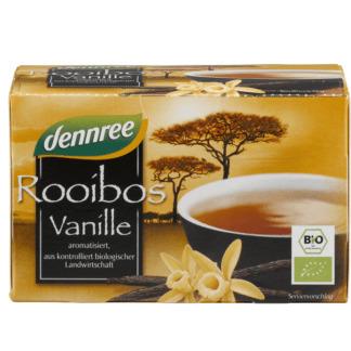 Bio Ceai din Rooibos cu Vanilie Dennree 20 pliculete 30 g