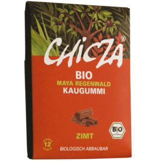 Guma de Mestecat Bio cu Scortisoara Chicza 30 g
