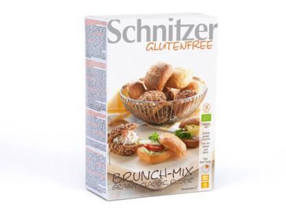 Chifle BIO Brunch Mix 2 x 4 bucati Fara Gluten Schnitzer 200 g