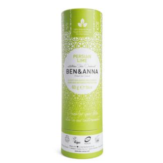 Deodorant Natural Stick Fara Aluminiu Tub Carton Persan Lime Ben & Anna 60 g