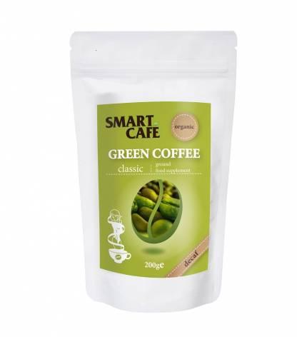 Cafea Verde Decofeinizata Macinata Bio Smart Coffee 200 g