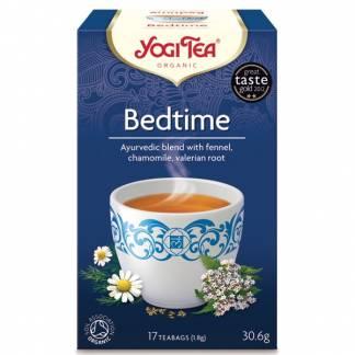 Ceai Ayurvedic Bedtime de Seara cu Fenicul,Musetel si Valeriana Yogi Tea 30,6 g