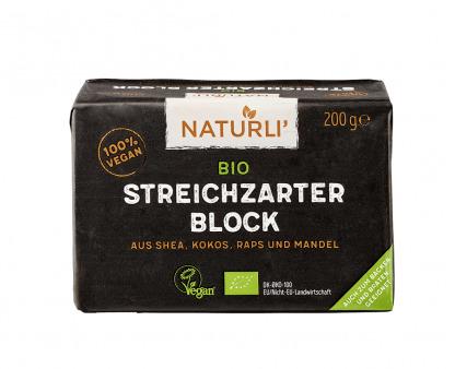 Unt Vegan Organic Naturli 200 g