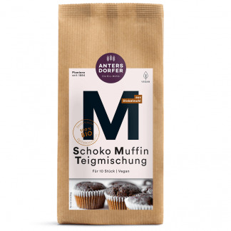 Bio Amestec pentru Briose de Ciocolata Vegan Antersdorfer Muhle 300 g