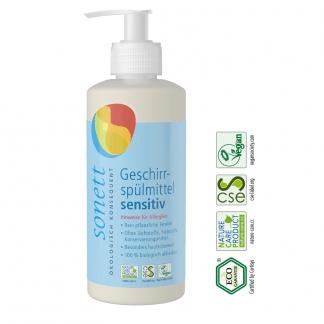 Eco Detergent Pentru Spalat Vase Sensitiv Sonett 300 ml