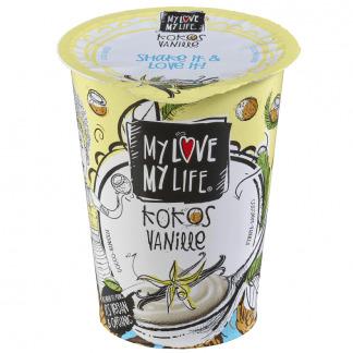 Iaurt Vegetal de Cocos cu Vanilie Bio Vegan MyLove - MyLife 180 g