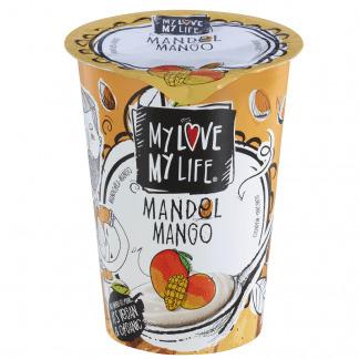 Iaurt Vegetal de Migdale cu Mango Bio Vegan MyLove - MyLife 180 g