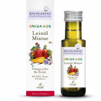 Supliment Omega 3 Bio pentru Copii Bio Planete 100 ml