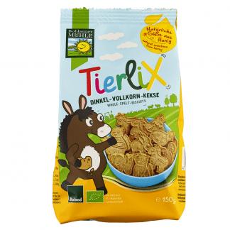 Bio Biscuiti Tierlix din Spelta Bohlsener Muhle 150 g