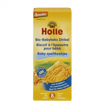 Bio Biscuiti din Grau Spelta 8 luni+ Holle 150 g