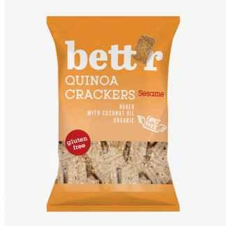 Bio Crackers din Quinoa cu Susan Fara Gluten Bettr 100 g