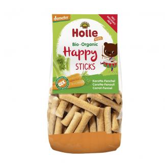 Bio Sticksuri cu Morcov si Fenicul Happy Sticks Holle 100 g