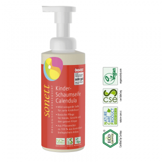 Eco Sapun Lichid-Gel de Dus Spumant cu Galbenele pentru Copii Sonett 200 ml