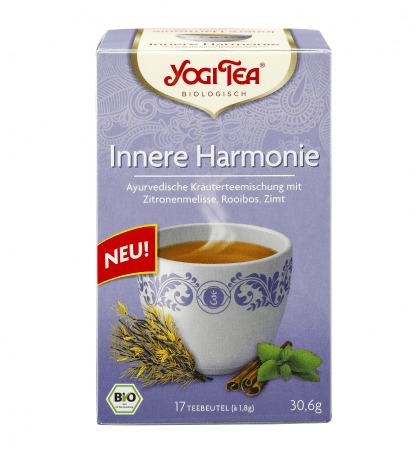 Bio Ceai Ayurvedic Armonie Interioara cu Roinita, Rooibos si Scortisoara Yogi Tea 30,6 g