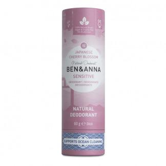 Deodorant Natural fara aluminiu Sensitive Japanese Cherry Blossom Ben & Anna