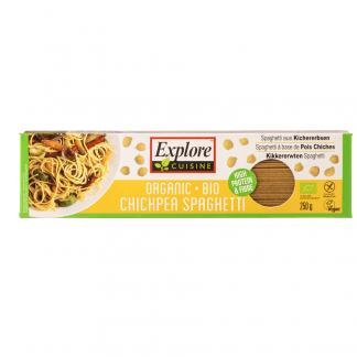 Bio Spaghete din Naut Fara Gluten Vegan Explore Cuisine 250 g