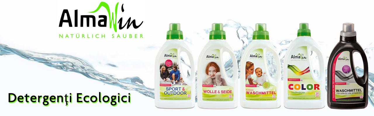 AlmaWin detergenti ecologici inalbitori rufe organici
