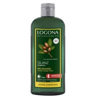 Sampon pentru Stralucire cu Ulei de Argan Bio Vegan Logona 250 ml