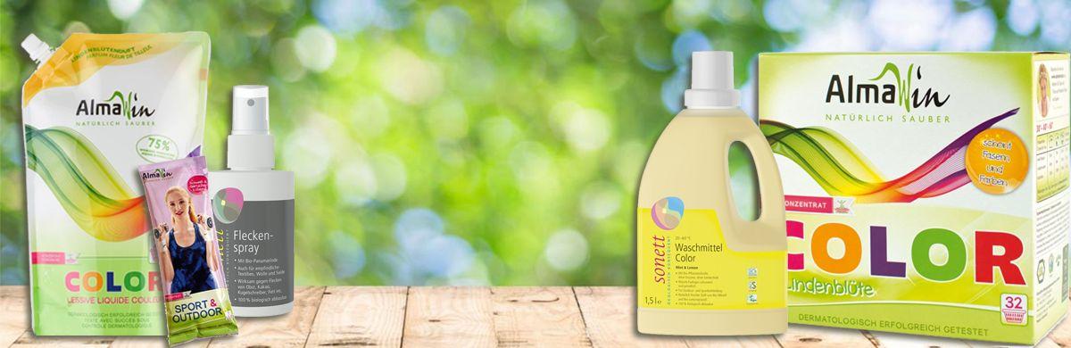 Detergenti si inalbitori ECO pentru rufe