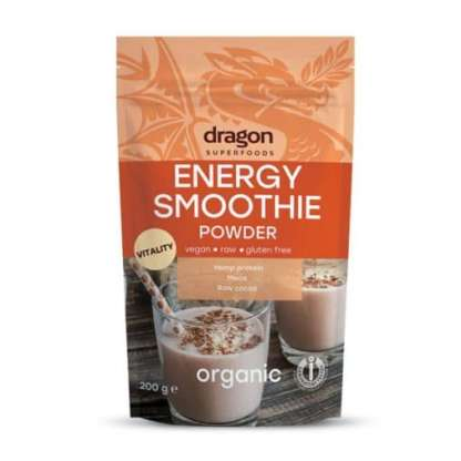Bio Energy Mix Pulbere Raw Vegan Fara Gluten Dragon Superfoods 200 g