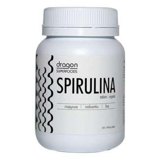 Spirulina Comprimate Bio Dragon Superfoods (200 bucati) 80 g