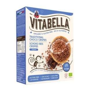 Bio Cereale cu Orez Crocant si Ciocolata Fara Gluten Vegan Vitabella 300 g