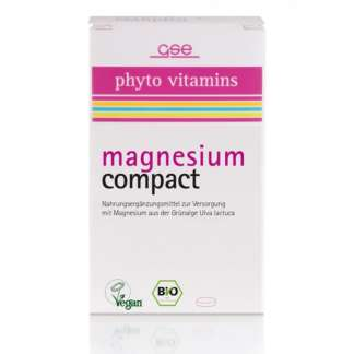 Bio Magneziu Compact Vegan GSE 60 Pastile 615 mg 37 g