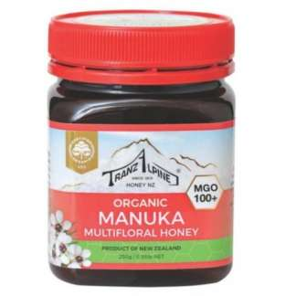 Bio Miere de Manuka MGO 100+ TranzAlpine 250 g