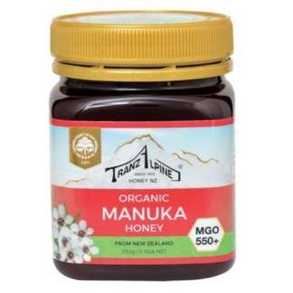 Bio Miere de Manuka MGO 550+ TranzAlpine 250 g