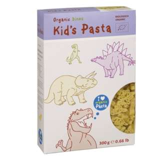 Bio Paste pentru Copii Dinozauri Alb Natur 300 g