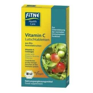 Bio Pastile de Vitamina C Vegan Fitne 20 buc 54 g