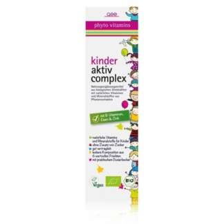 Supliment alimentare pentru copii Kinder Aktiv Complex Vegan GSE 330 ml
