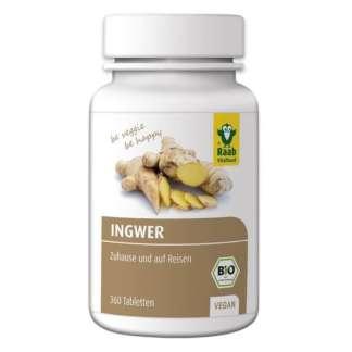 Bio Tablete de Ghimbir Vegan Vitalfood 250 mg