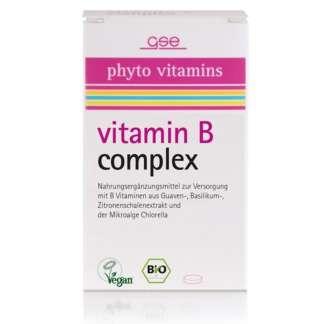 Bio Complex Vitamina B Vegan GSE 60 Pastile 500 mg 30 g