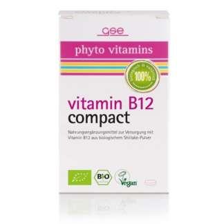 Bio Vitamina B12 Compact Vegan GSE 120 Pastile 280 mg 34 g