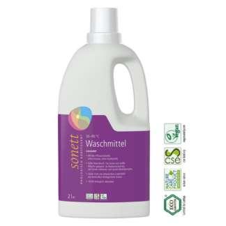 Eco Detergent Lichid pentru Rufe Albe si Colorate cu Lavanda Sonett 2 l