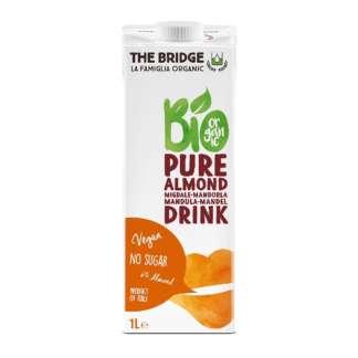 Bio Bautura Pura de Migdale 6 % Fara Zahar Fara Gluten The Bridge 1 l