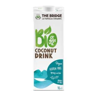 Bio Bautura de Cocos Fara Gluten Vegan The Bridge 1 l