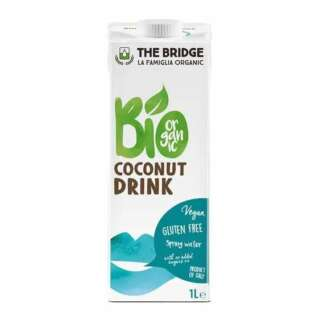 Bio Bautura de Cocos Fara Gluten Vegan The Bridge 1l
