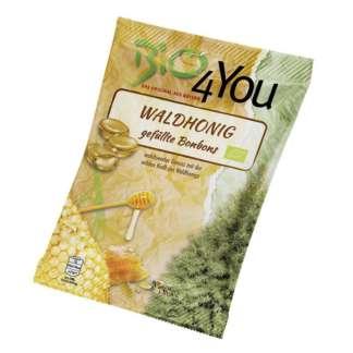 Bio Bomboane cu Miere din Flori Salbatice Bio4You 75 g