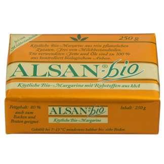 Bio Margarina Vegana Alsan 250 g