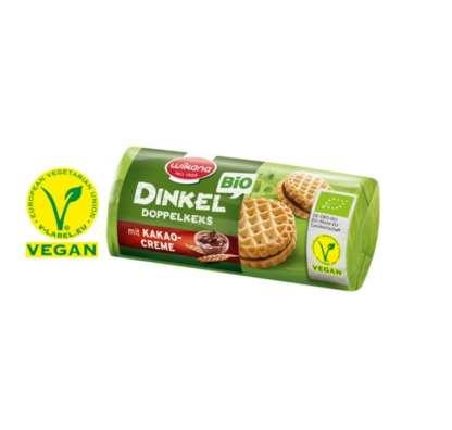 Bio Biscuiti din Spelta cu Crema de Cacao Vegan Wikana 90 g