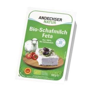 Bio Branza Feta din Lapte de Oaie 45% Andechser Natur 180 g