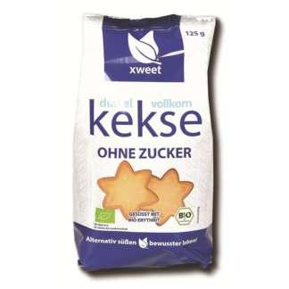 Bio Biscuiti din Spelta Integrala Fara Zahar Xweet 125 g
