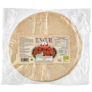Bio Blat de Pizza din Faina Alba Eunature 2 buc 300 g